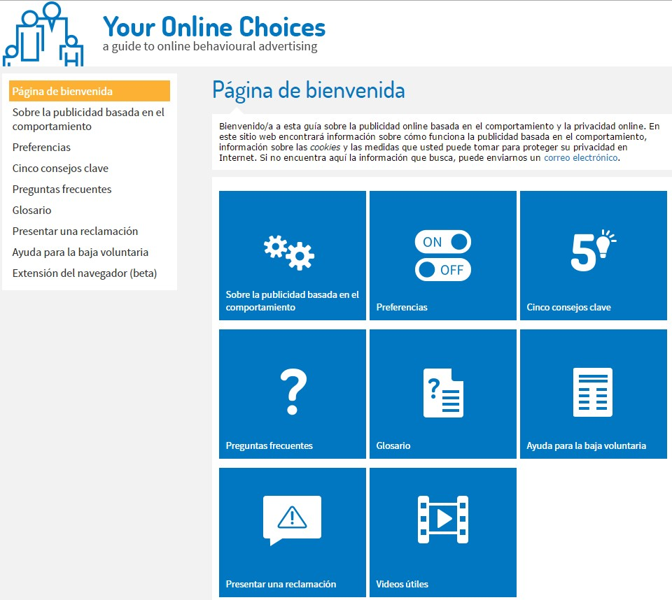 Your Online Choices - Fran Bravo Gestión de presencia en internet - social media - community manager - blog - blogs - villena - alicante